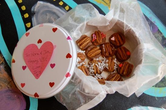Iris's Famous Vagazzled Valentine Vulva Candies